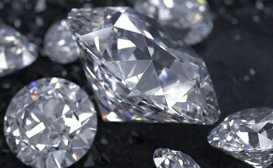 华丽璀璨!一颗价值超2亿钻石运抵上海 重88克拉为全球五大黑钻之一