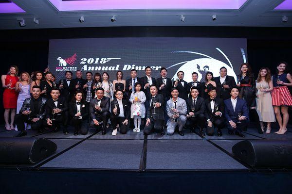 hmv数码中国集团周年晚宴星光