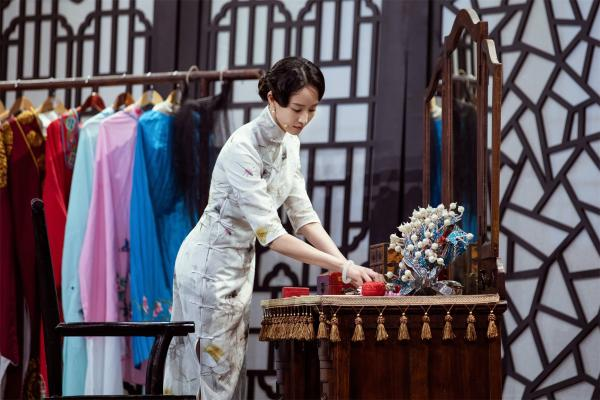 张钧甯《我就是演员》旗袍造型惊艳众人为角色苦练京腔