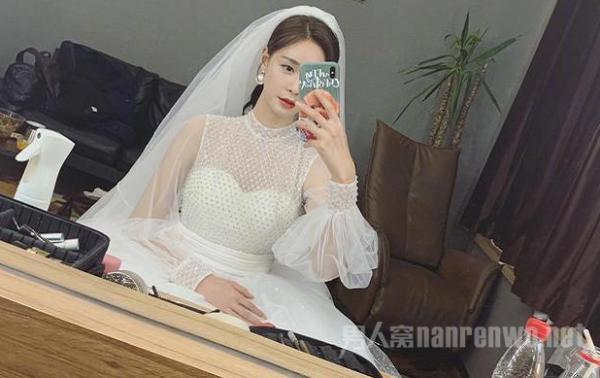 沈梦辰晒婚纱照 这是要官宣和杜海涛结婚了吗?