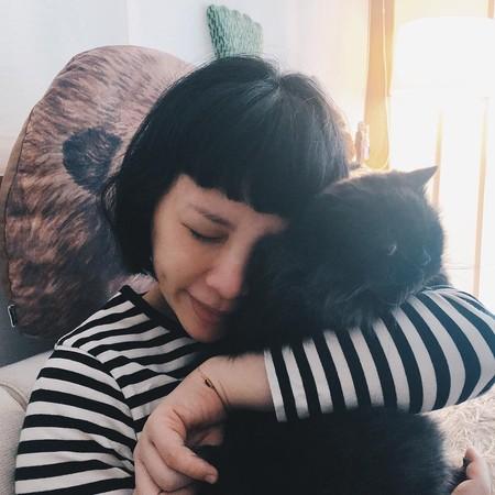 魏如萱15岁爱猫病逝:会永远记住我们在一起的时光
