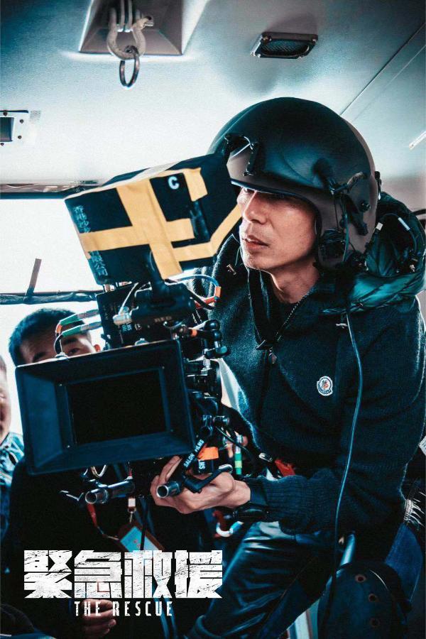 国际权威媒体探访剧组 《紧急救援》首度曝光拍摄现场工作照