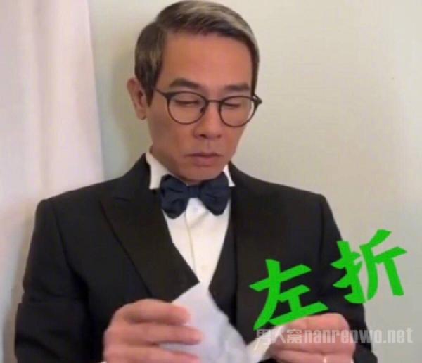 陈小春废纸做西装 揭露始末原因 行为值得点赞!