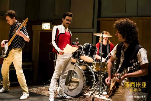 《波西米亚狂想曲》曝幕后特辑 本·哈迪每天练鼓10小时复刻传奇鼓手