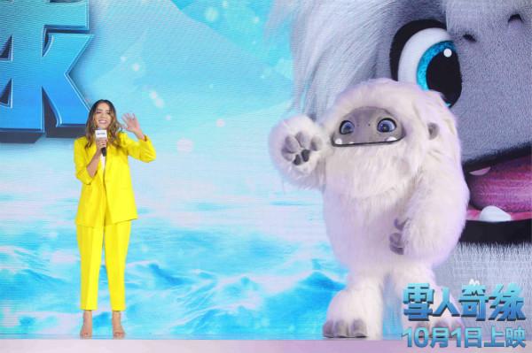 《雪人奇缘》定档国庆 张子枫把角色比拟家养柴犬