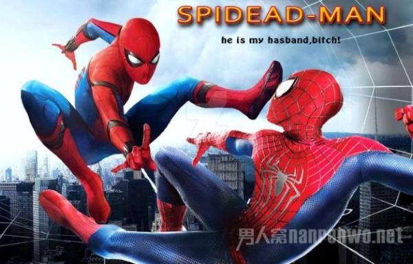 荷兰弟保护粉丝 这就是我们的蜘蛛侠 没事 有我呢!