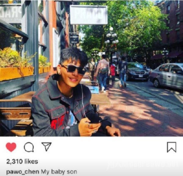 陈坤儿子近照曝光 网友:颜值和爸爸陈坤实在差太多了