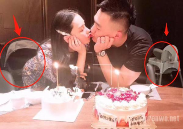 张馨予为何捷庆生 甜蜜亲吻 身后细节暴露两人孩子已生