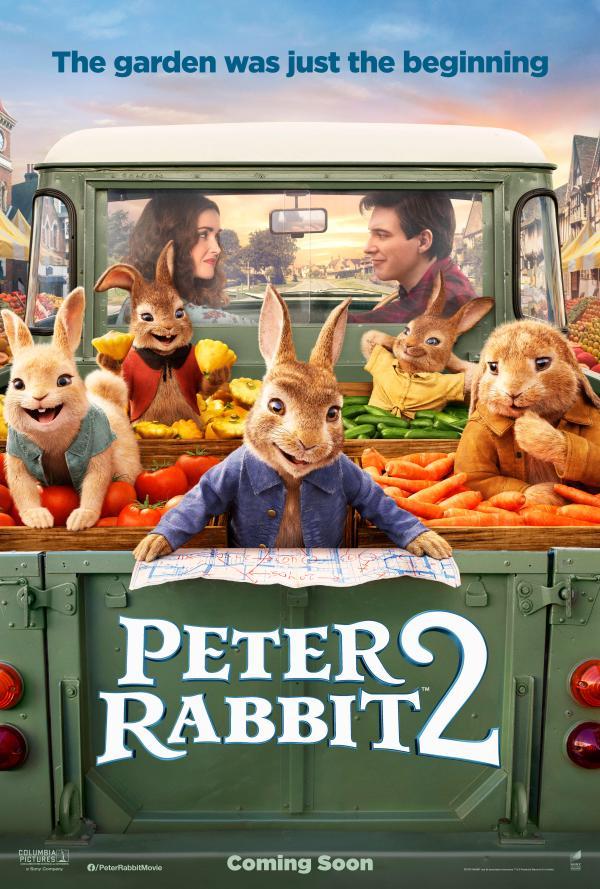 《比得兔2:逃跑计划》先导预告海报双发