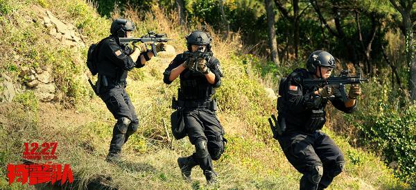 《特警队》中国力量海陆空全面迎战