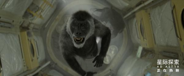 """《星际探索》曝""""命悬一线""""版特辑 神秘狒狒突袭太空舱令人细思极恐"""
