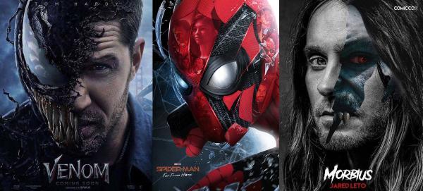 索尼影业公布未来计划 将陆续开发15部蜘蛛侠宇宙影片!