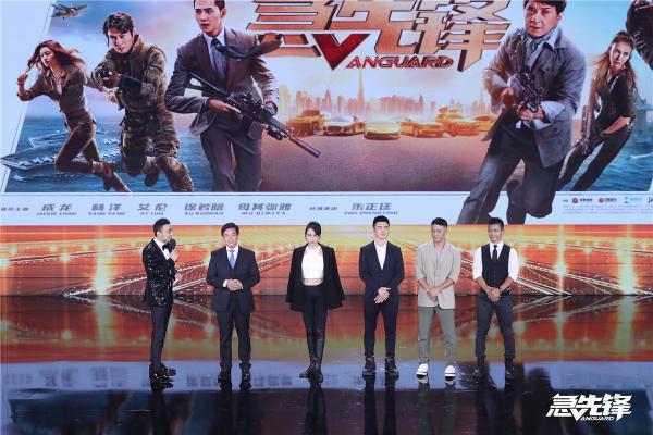 """唐季礼携《急先锋》亮相""""中国影视之夜"""" 期待打造中国的国际化动作片品牌"""