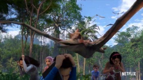 动画剧集《侏罗纪世界:白垩纪探险营》预告短片公布
