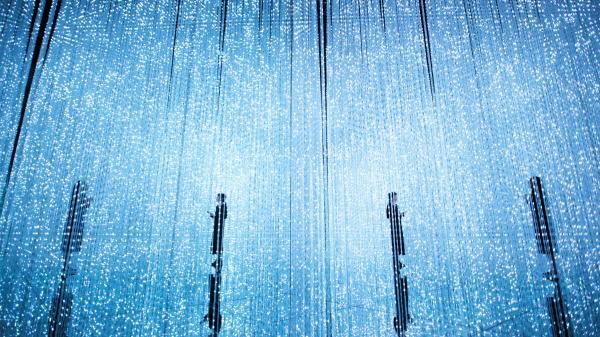 teamLab无界美术馆首跨界 与网易放刺共创无界沉浸电音现场