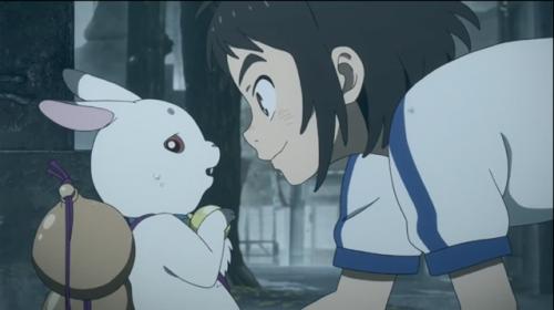 动画电影《神在月的孩子》官方公开了特报PV