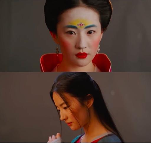 刘亦菲花木兰试妆照曝光 露少女青涩更有英气男装