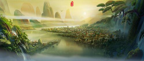 动画电影《杨戬》公布全新美术设计视频