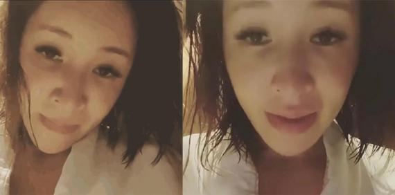 萧亚轩深夜发视频后秒删 头发凌乱抽泣状态似醉酒