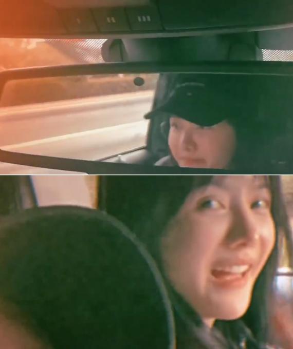金瀚与张芷溪开车秋游 晒视频夸女友大方秀恩爱