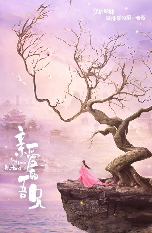 《亲爱的吾兄》开机曝概念海报   赵英博吴芊盈山水相望