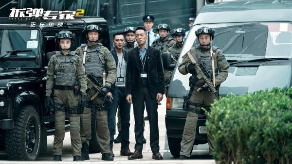 《拆弹专家2》发布姜皓文读评论视频 与刘德华拍戏拍到青筋暴起