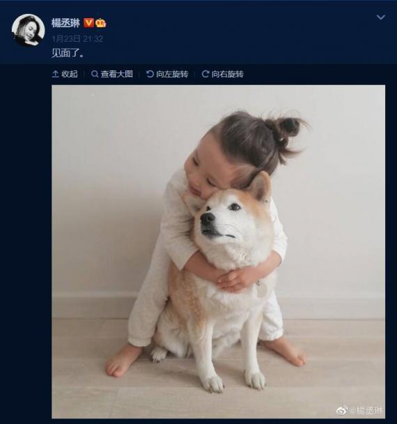 结婚1年 分居300天 杨丞琳发布了一份文件 称他终于见到了李荣浩