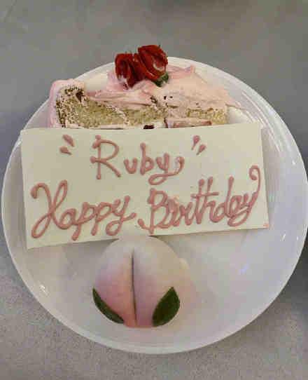 霍建华为林心如的生日精心准备蛋糕 充满爱心