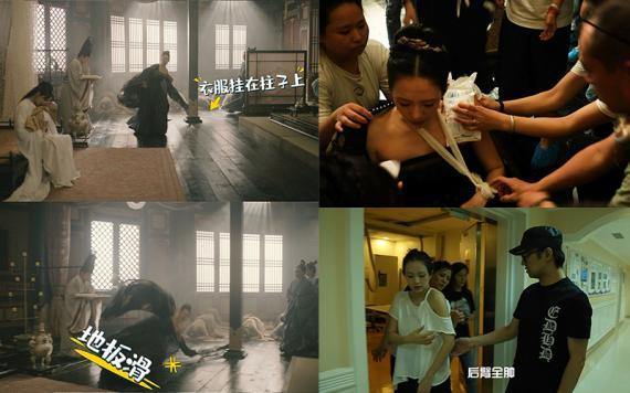章子怡拍《上阳赋》时受伤 左臂脱位仍坚持拍摄