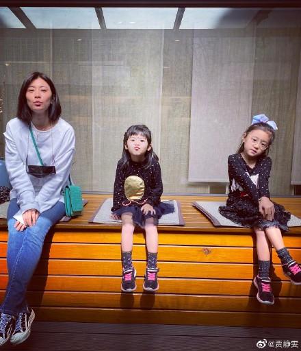 贾静雯的女儿巴巴被发现患有先天性弱视 视差高达600度!