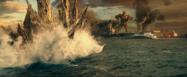 《哥斯拉大战金刚》发布贴片预告 两大巨兽狭路相逢激战大银幕