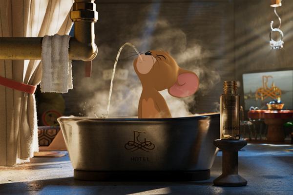 """《猫和老鼠》发布""""欢喜冤家""""版预告 汤姆杰瑞电影院笑闹元宵"""