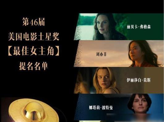 刘亦菲提名最佳女演员花木兰获得土星奖并获得六项提名
