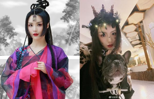 《山河令》女星私服 顾湘换下戏服很可爱
