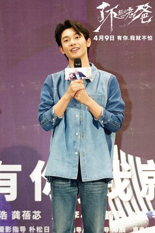 """电影《了不起的老爸》受追捧 张宥浩畅谈""""中国式父子关系"""""""