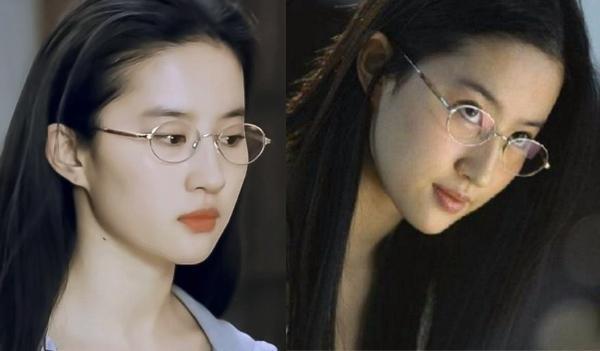 女星眼镜杀:刘亦菲好清新 baby西装干练