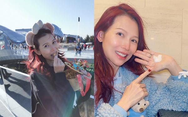 美艳红发谁更好看?泫雅虞书欣性感可爱 蔡少芬减龄似少女