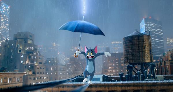 """《猫和老鼠》曝""""街头表演""""电影片段  汤姆杰瑞Battle才艺拼人气"""