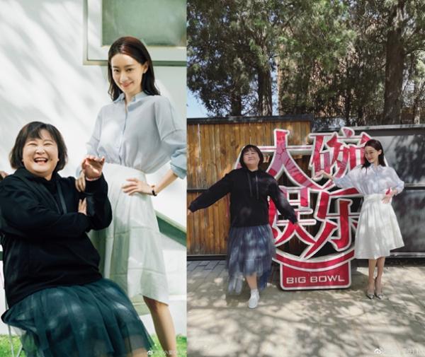 张小斐晒合影为贾玲庆生 称赞她是重情义的姐姐