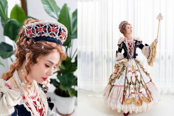 李若彤像洋娃娃一样挑战洛丽塔 像公主一样挑战YCY