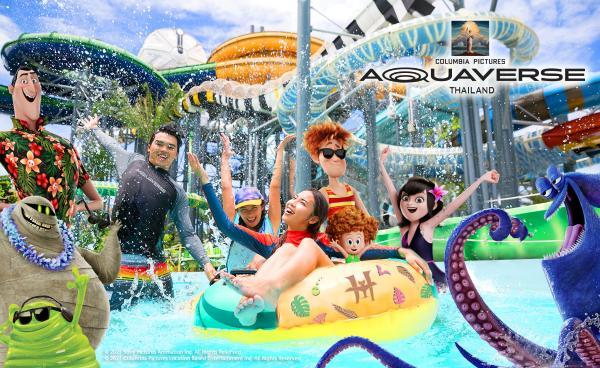 索尼影业全球首家主题水上乐园落户泰国 开启沉浸式游玩新体验