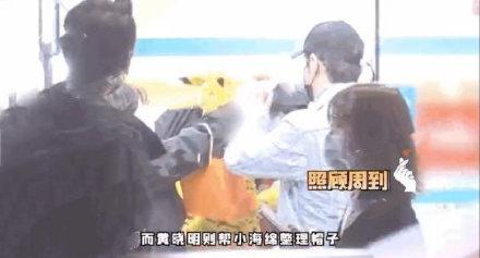 黄晓明baby带小海绵就医 一家三口也是罕见同框