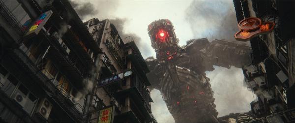 """《哥斯拉大战金刚》曝""""机甲巨兽""""片段海报  机械哥斯拉对战哥斯拉"""