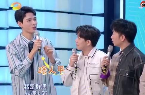 龚俊在张雨绮的广告里当过群演 凭《山河令》爆火后与张雨绮同台