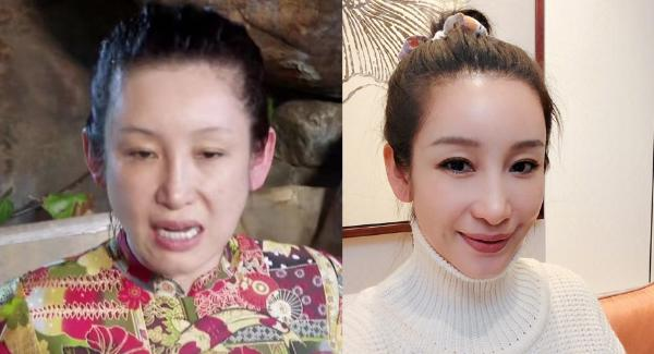 妻子们泡温泉素颜曝光,秦海璐刘涛反差好大!