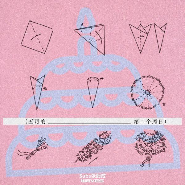 W8VES厂牌成员Subs(张毅成)全新单曲《五月的第二个周日》温暖上线