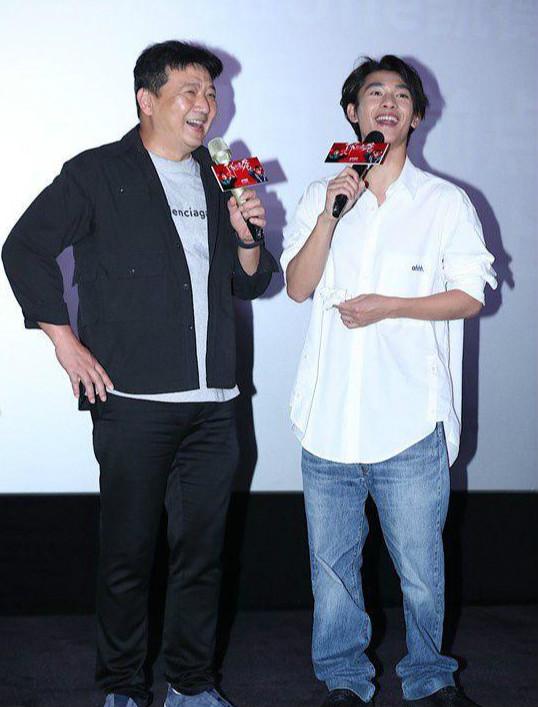 《了不起的老爸》上影节点映 王砚辉张宥浩谈父子情