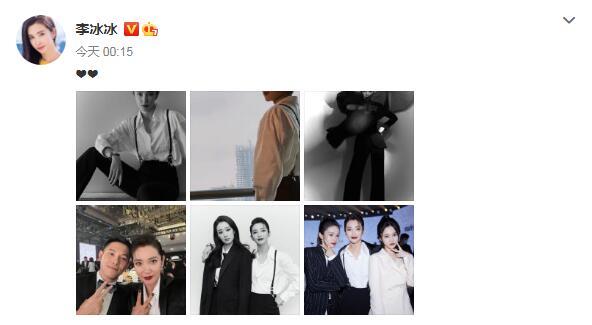 众女星出席时尚晚宴 黑白造型西装展现女性酷飒姿态