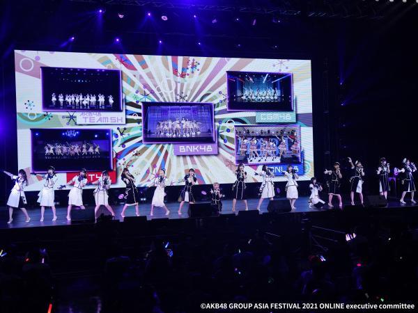2021「AKB48 Group亚洲盛典 ONLINE」隆重举办