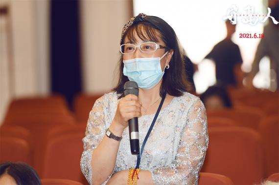 电影《守岛人》新华社专场放映 导演陈力讲述温暖故事